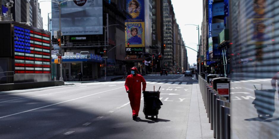 Nueva York amplía cuarentena hasta 13 de junio