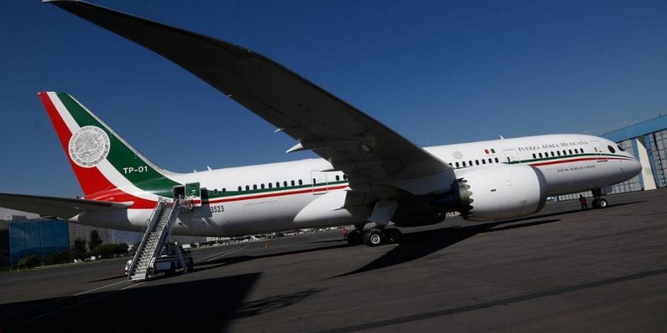 Avión presidencial se queda en EU por oferta de compra, pero rifa sigue en pie