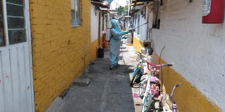Iztapalapa, un viaje al corazón de la epidemia del coronavirus en la CDMX