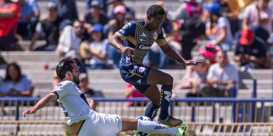 Pumas golea a San Luis y se posiciona segundo en la Liga MX