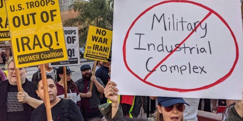 Protestan en ciudades de EU por medidas contra Irán