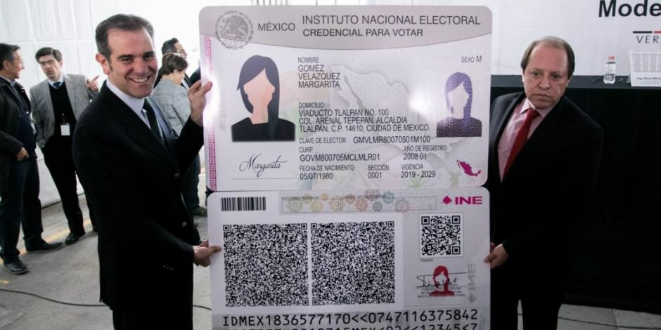 Puedes usar tu credencial del INE como identificación aunque esté vencida