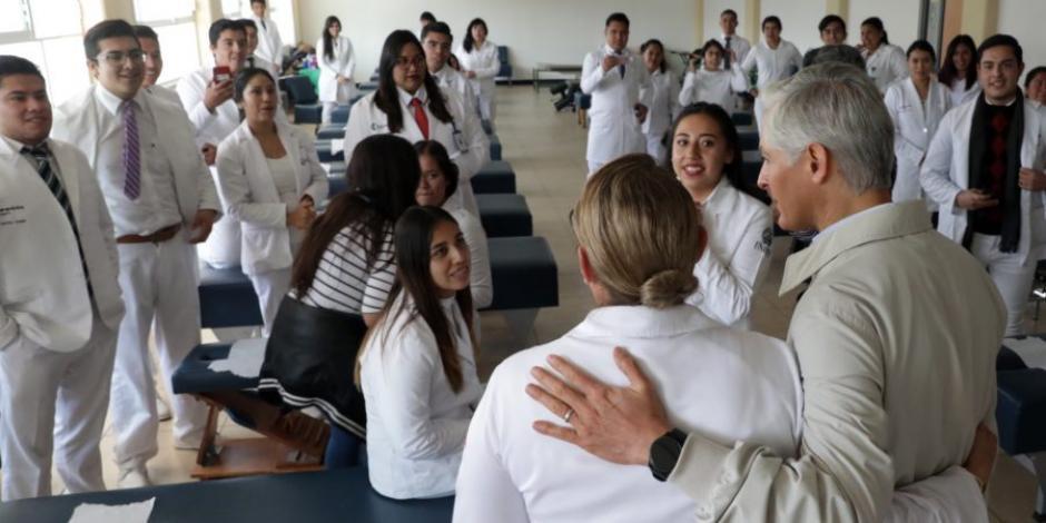 Entrega Del Mazo nuevas instalaciones a la Universidad Estatal del Valle de Toluca