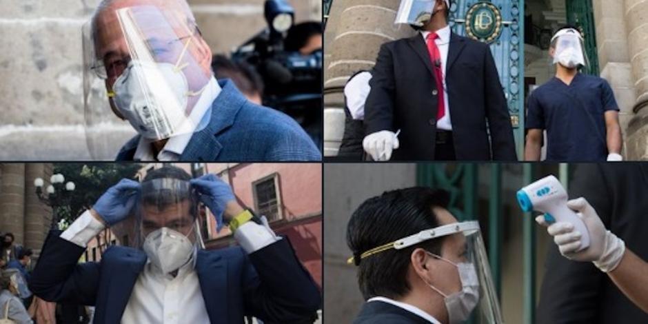 Blindados contra virus, sesionan diputados en Congreso de CDMX