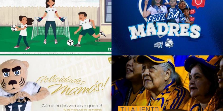 El futbol mexicano celebra el Día de las Madres (VIDEOS)