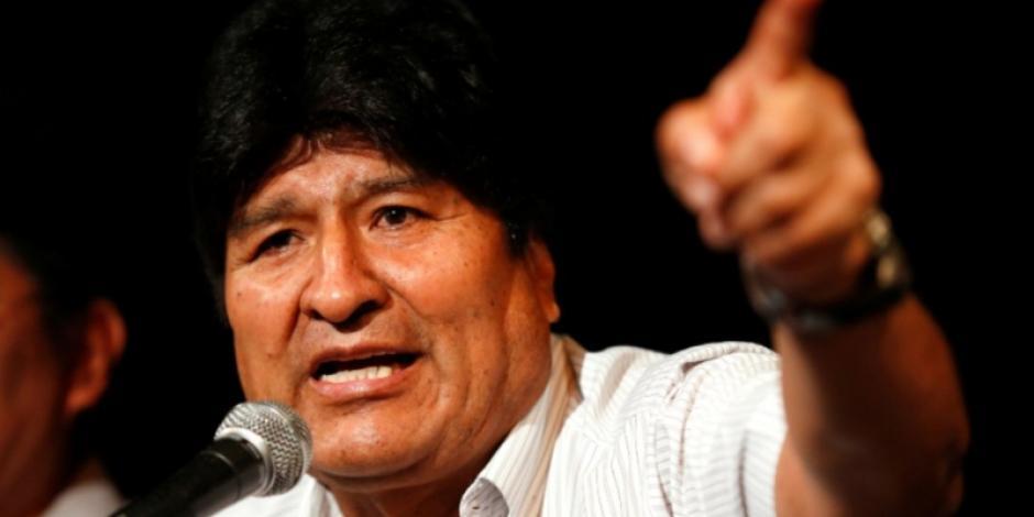 Si vuelvo a Bolivia formaría milicias armadas como en Venezuela: Morales
