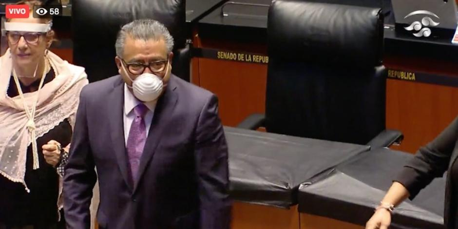 Ratifican en el Congreso nombramiento de Horacio Duarte en Aduanas