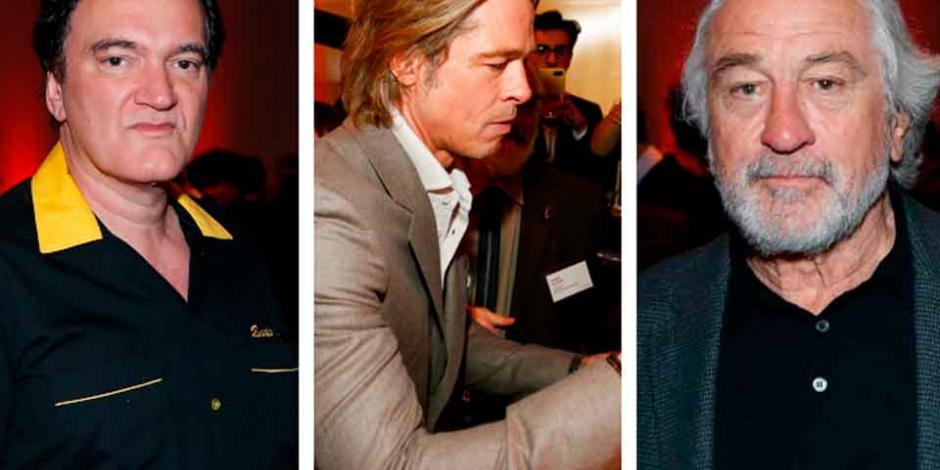 DiCaprio, De Niro, Tarantino y otros nominados al Oscar se reúnen en desayuno anual