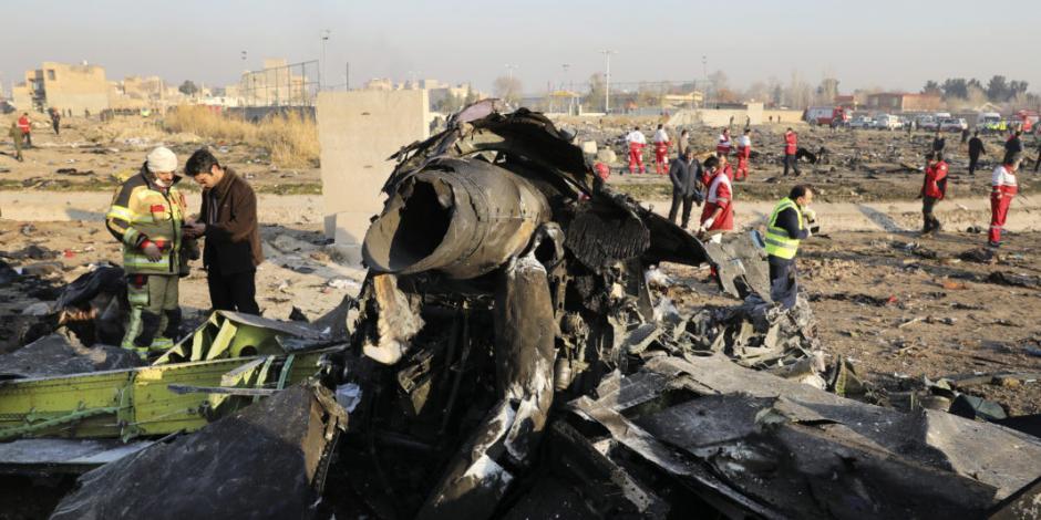 """Irán reconoce que derribó avión ucraniano """"por error"""""""
