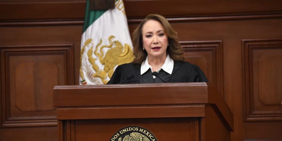 Ministra Yasmín Esquivel Mossa destaca anhelo de justicia de Ríos-Farjat