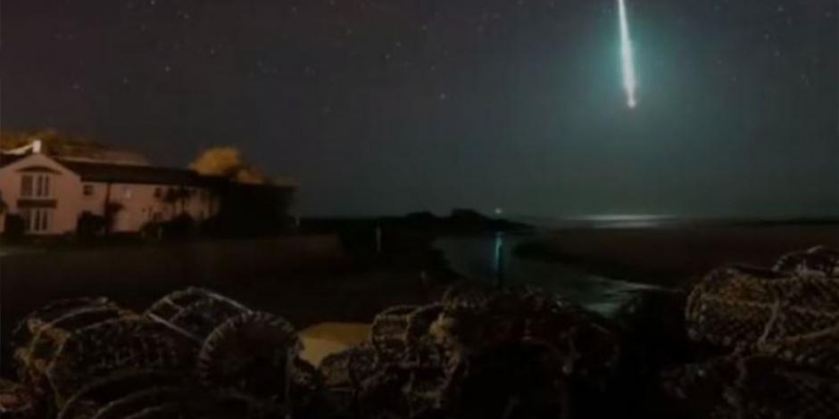 ¡Impresionante! Captan entrada de meteorito a atmósfera de la Tierra  (VIDEO)