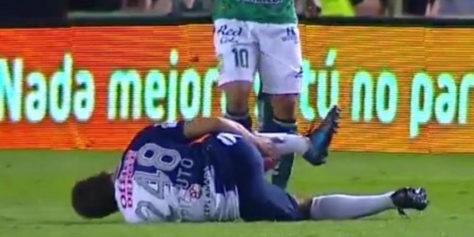 La espeluznante lesión de Eugenio Pizzuto, jugador del Pachuca (VIDEO)