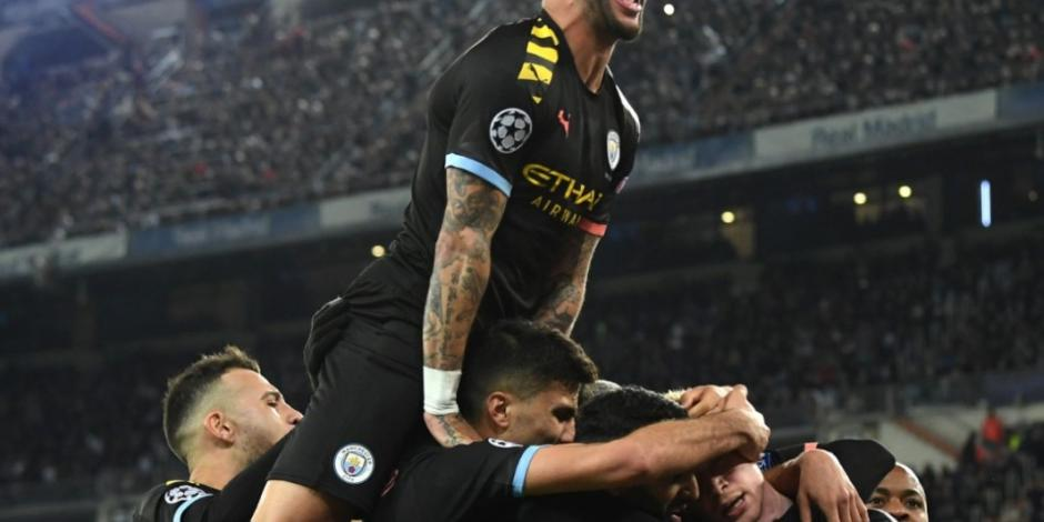 Manchester City derrota al Real Madrid en la Champions League