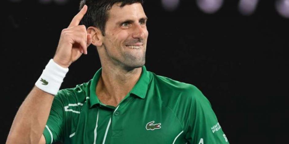 Djokovic elimina a Federer y avanza en el Abierto de Australia