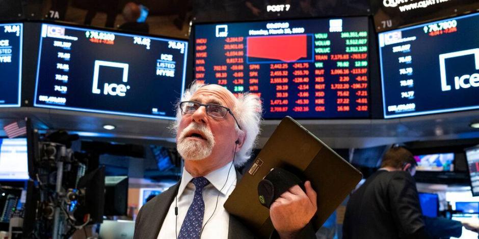 Wall Street se derrumba más de 12% pese a medidas contra Covid-19