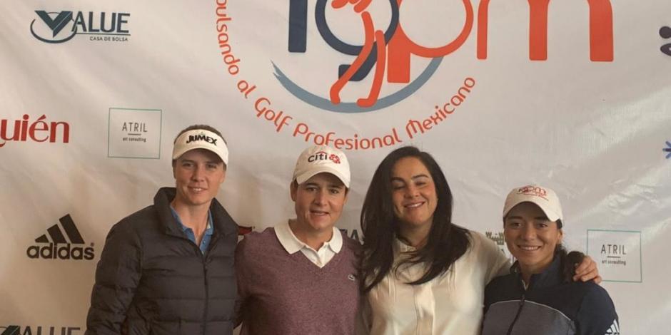 Lorena Ochoa presenta torneo de golf a celebrarse en CDMX