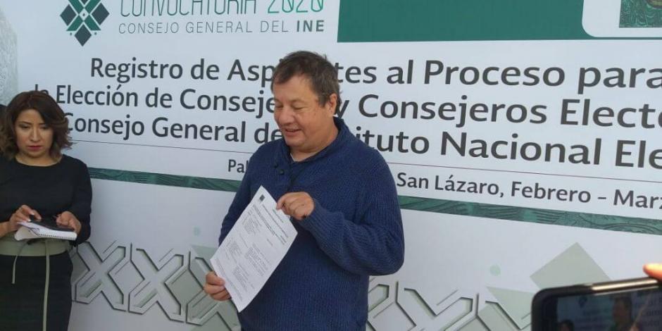 Inicia registro de aspirantes al Consejo de INE con 2 docentes
