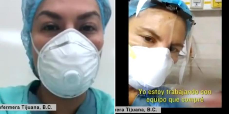 Lo que circula en redes es verdad, esto es el terror: enfermeras de Tijuana