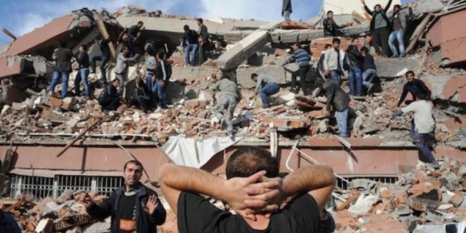 Sube a 19 el número de muertos por terremoto en Turquía