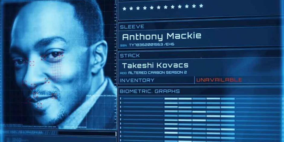 "Anthony Mackie será protagonista de ""Altered Carbon"", revela trailer"