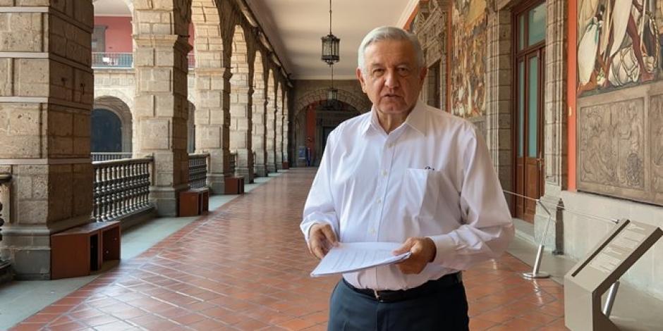 AMLO pide abrir con cuidado en 324 municipios este lunes