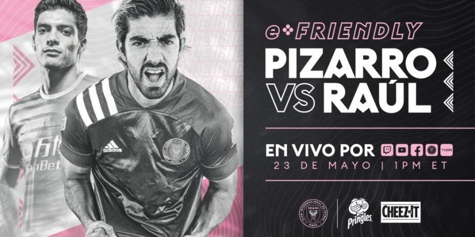 Rodolfo Pizarro y Raúl Jiménez se enfrentarán de manera virtual en FIFA 20