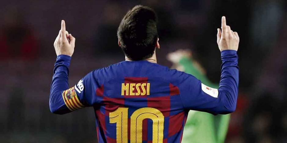 Messi llega a 500 victorias con el Barcelona