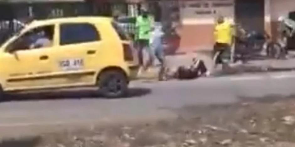 Asesinan a aficionado del América previo al clásico (VIDEO SENSIBLE)