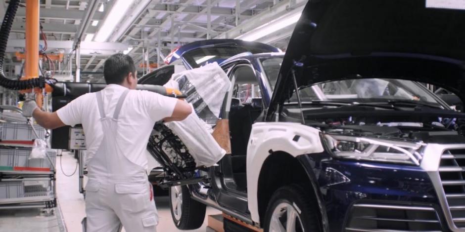 Por salud de trabajadores, Audi México mantiene paro en planta del Q5