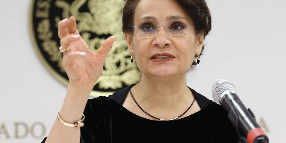 Padierna propone coalición colegiada que dirija rumbo de Morena