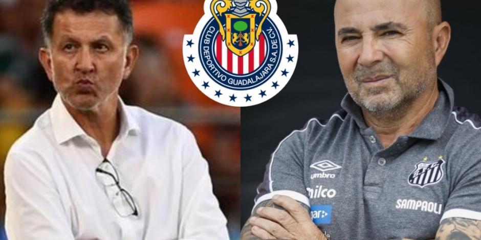Osorio y Sampaoli, las opciones de Chivas para sustituir a Tena