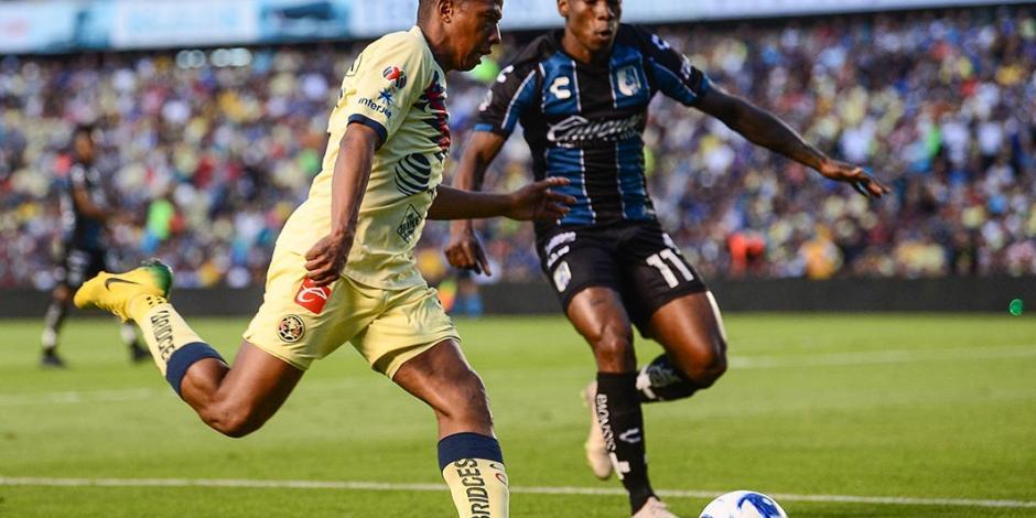 América derrota al Querétaro con doblete de Andrés Ibargüen