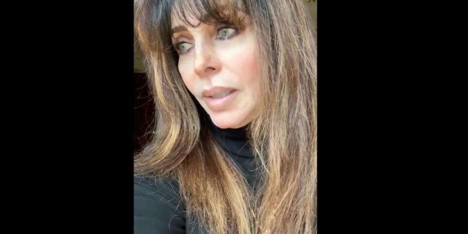 Al borde del llanto, Verónica Castro reaparece en las redes (VIDEO)