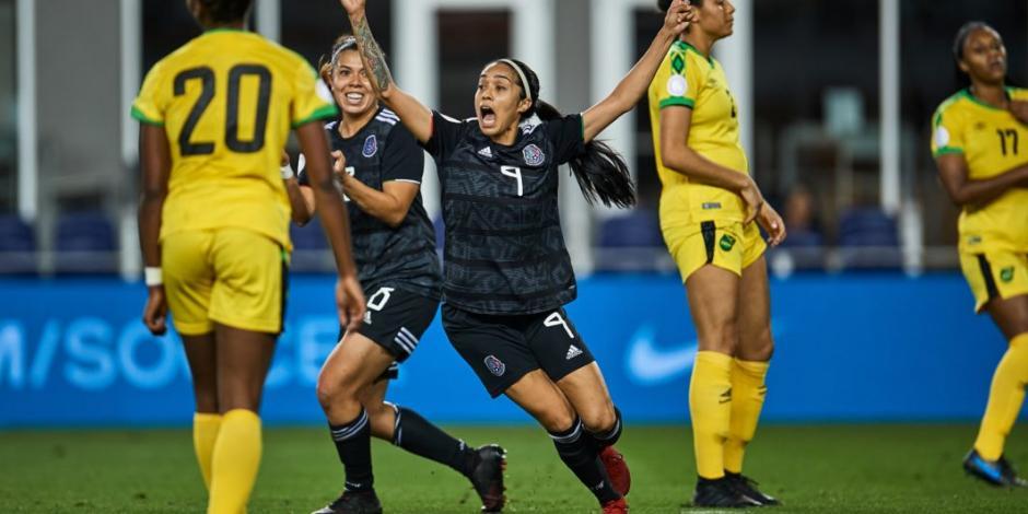 México vence a Jamaica en su debut en el preolímpico femenil