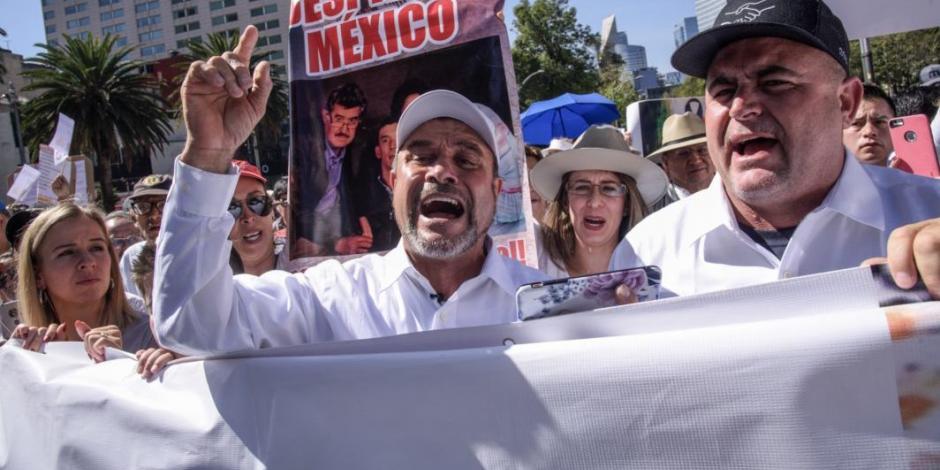 Frente Popular se une a marcha LeBarón