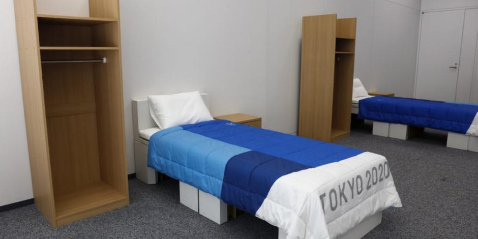 La Villa Olímpica de Tokio tendrá camas hechas de cartón