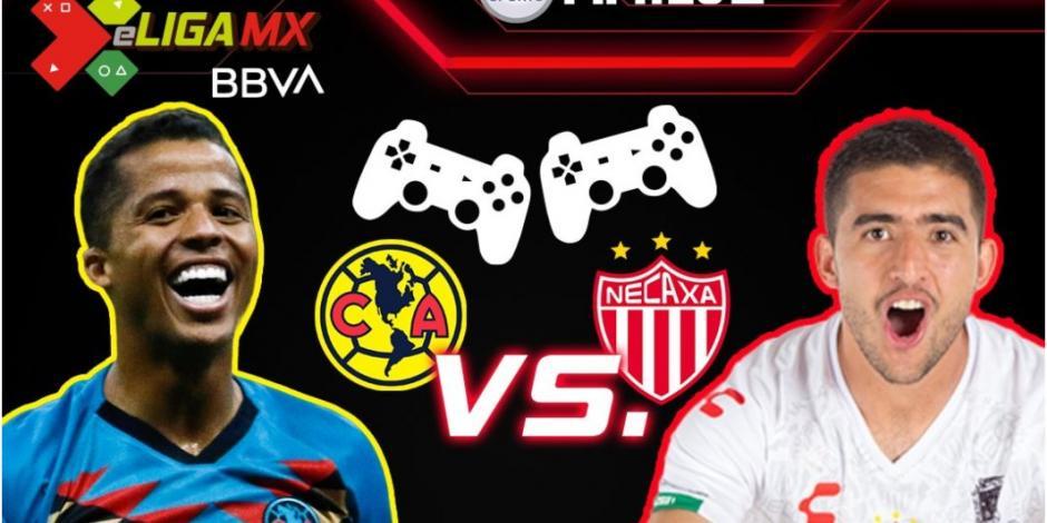 Giovani lleva al América a cuarto triunfo seguido de local en la eLiga MX (VIDEO)