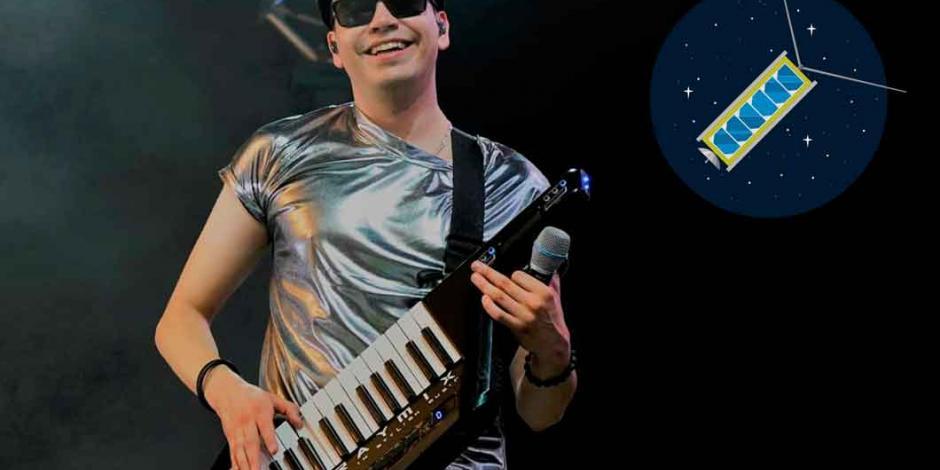 Raymix, músico que estuvo en la NASA, patrocina construcción de nanosatélite