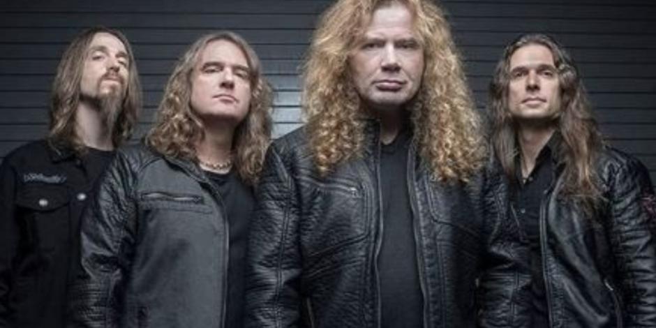 ¡Disco en proceso! Megadeth da una probadita de su nuevo álbum