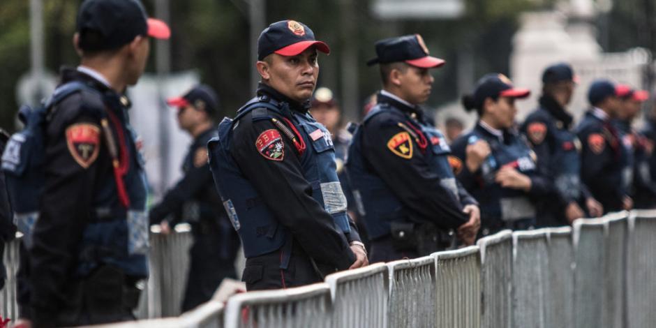 Suman a 5 mil policías auxiliares y bancarios a plan de cuadrantes