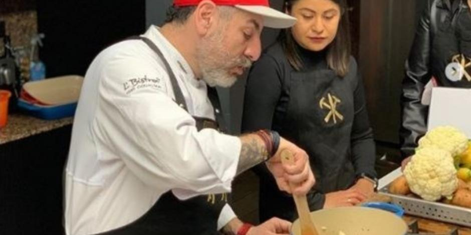 El chef Aquiles Chávez te enseña a prepararle un delicioso platillo a mamá