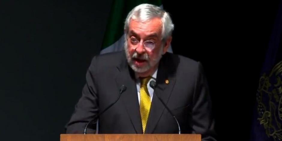 Enrique Graue anuncia la creación de la Coordinación de Igualdad de Género en la UNAM
