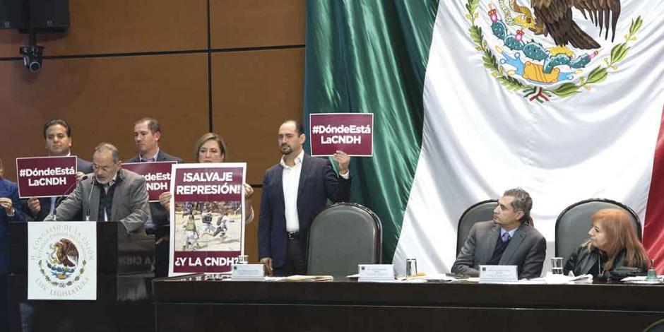 Critica la oposición a Rosario Piedra por silencio