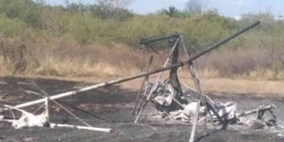 Muere Félix Linares, alcalde de Ocuilan, en accidente aéreo