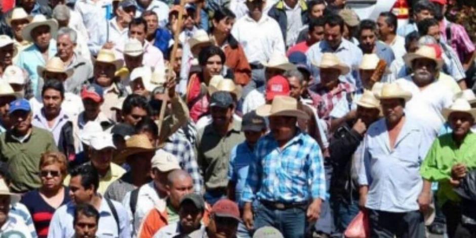 Organizaciones campesinas anuncian protestas durante gira de AMLO en Morelos