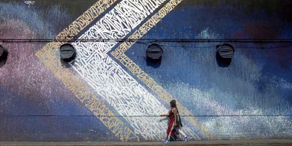 Escribir pintando: el arte urbano de Said Dokins