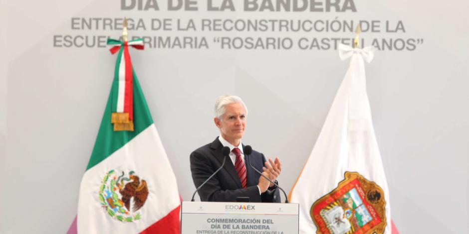 Demanda Alfredo del Mazo construir un México más justo
