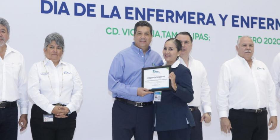 Gobernador Cabeza de Vaca celebra a enfermeras y enfermeros de Tamaulipas