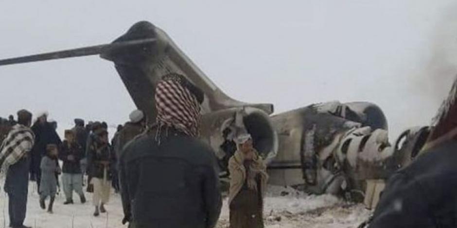 Talibanes afirman que derribaron avión con altos mandos de la CIA