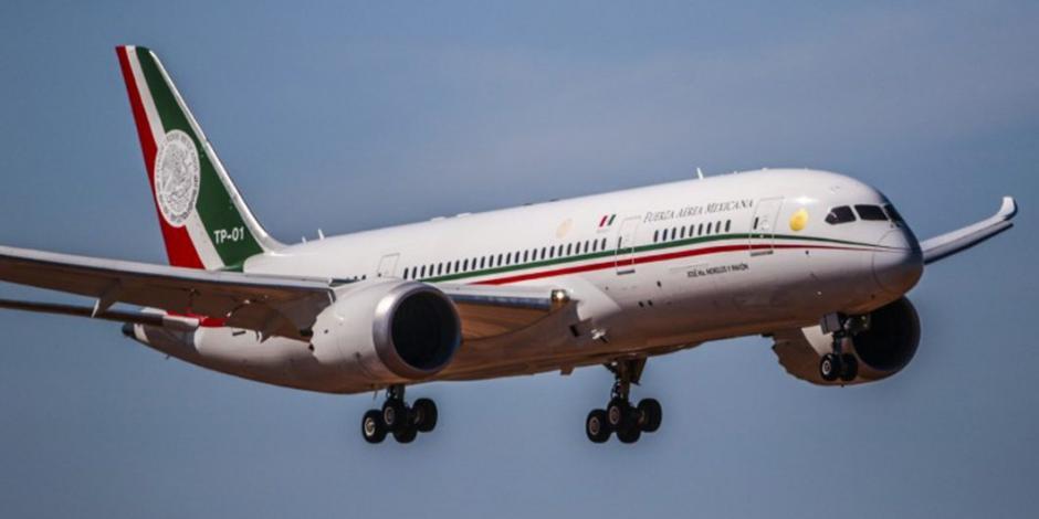 Defiende AMLO propuesta de rifar el avión presidencial